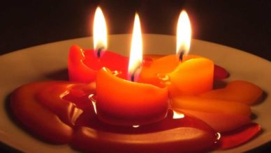 cera di soia per candele