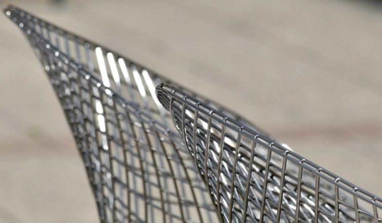 sedie acciaio inox