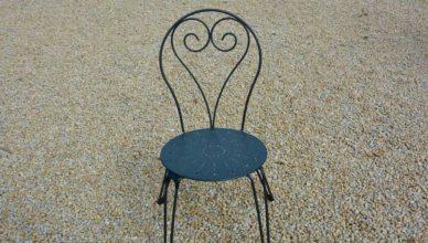 sedie in ferro